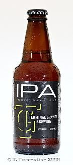 Terminal Gravity IPA, brewed in Enterprise, OR