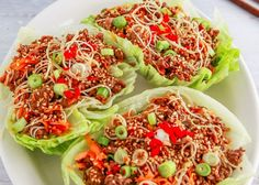 See the Beef San Choy Bow Weight Loss Recipe from the Healthy Mummy plans designed to help mums lose weight.