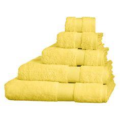 Buy John Lewis Everyday Egyptian Towels Online at johnlewis.com