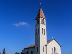 Jézus Szíve katolikus templom / Sacred Heart catholic church (Ecsegfalva, Békés, Great Plain)