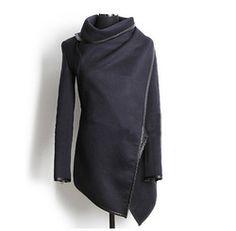 Online Shop New 2014 Fashion Winter Worsted Coat Women Thick Slim desigual coat Outerwear Long sleeve Jackets Women Plus size|Aliexpress Mobile