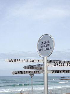 St. Clair Beach. Dunedin. NZ Sunny Beach, Salt And Water, Wind Turbine, New Zealand, Beaches, Public, Paintings, London, World
