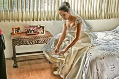 HDR Wedding Photo