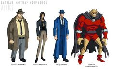 Batman: Gotham Crusaders Allies