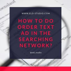 Read Steps on ELD STUDIO Website How to do Creation Text AD in the Searching Network? Google Text Ads campaigns for Business project, Youtube Ads, TrueView for Action In-Stream Ads campaign, YouTube In-stream Ads on Google Ads, YouTube Discovery Ads on Google Ads, Google Ads Ad Campaigns, Google Ads Ad Campaigns Marketing, Google Ads Campaigns, Advertisement Campaign Graphics, Advertisement Campaign, Advertisement Design Graphics. #displayads #display #GoogleAds #ad #ads #googletextads Text Form, Display Ads, Free Text, Google Ads, Brand Identity Design, Ad Campaigns, Digital Marketing Services, Advertising Design, Pinterest Marketing