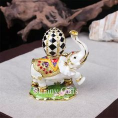 Find More Storage Boxes & Bins Information about Cute Elephant Jeweled Trinket Box Elephant Box with Faberge Egg on Back,High Quality box union,China box stamp Suppliers, Cheap box features from Shinny Gifts CO., Ltd on Aliexpress.com