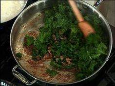 Quick-Braised Kale | Rachael Ray Show