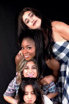 Camila, Ally, Normani & Lauren