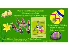 Was in einer Osterhasenfamilie  alles geschehen kann. Mit dem Pax et Bonum Verlag wird man es erfahren