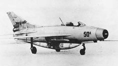 Mikoyan Gurevich Ye-50A (1958) - experimental interceptor with a combined powerplant of jet and liquid-fuel rocket engines. Note the tank for rocket fuel beneath the fuselage.  Микоян, Гуревич Е-50A