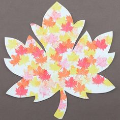 In case you missed our blog post from yesterday, here is a variation on how to make a fun fall project with your kids/students #MapedHelix Art For Kids, Crafts For Kids, Fall Art Projects, Autumn Art, Inspiration For Kids, Leaf Art, Buy Art, Twitter, Stationery