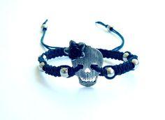 ♥ Pulseira DonaFlor Skull Black R$20.00
