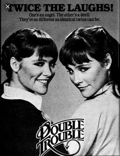 1980s Tv Shows, Old Tv Shows, Double Trouble Movie, Series Premiere, Twin Sisters, Twin Girls, Classic Tv, How To Be Outgoing