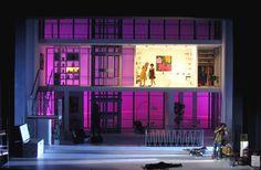 """OPERA: Roni Toren Stage Design """"LE NOZZE DI FIGARO"""" / Mozart , 2009 Saarlandisches Staatstheater Saarbruecken , Gemany  Conductor : Andreas Wolf Director : Inga Levant  Costumes : Magali Gerberon"""