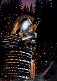 samurai photoshop art