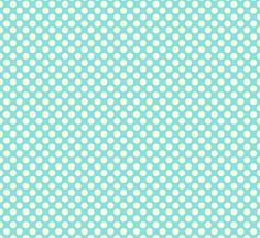 These aqua dots would be cute as an accent - maybe a pillow for a rocker or to recover a lamp shade?