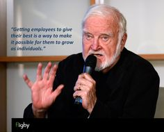 """Prof. Csikszentmihalyi: """"Getting employees to give their best is a way to make it possible for them to grow as individuals."""""""