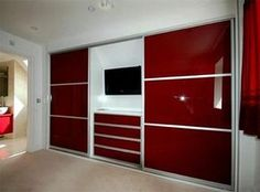 bedroom wardrobes like the TV set in not the colour though