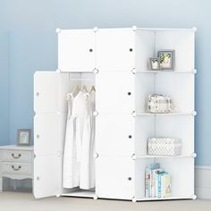 Children Wardrobes Lower Price with New Childrens Cartoon Plastic Assembly Simple Wardrobe Lockers Storage Cabinets Resin Composition Baby For Kit Child Convenient To Cook Children Furniture