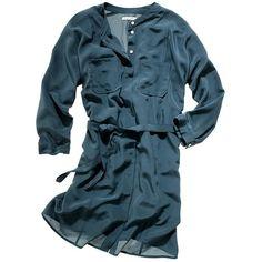 journal shirtdress - Madewell - Polyvore