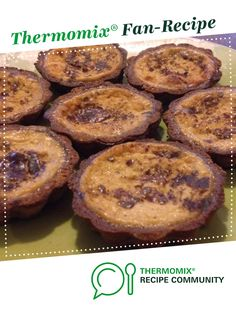 Recipe Custard Tarts (Gluten, Dairy and Refined Sugar Free) by Thermo Sensation, learn to make this recipe easily in your kitchen machine and discover other Thermomix recipes in Desserts & sweets. Sugar Free Recipes, Sweets Recipes, Desserts, Coconut Syrup, Coconut Sugar, Gluten Free Flour Mix, Custard Tart, Mini Tart, Thermomix