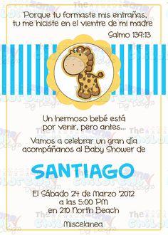 invitacion para baby showersorpresa - Buscar con Google