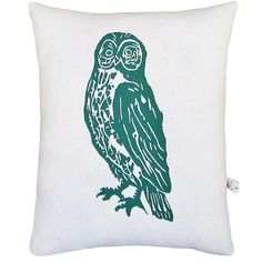Owl Pillow    I love owls! This is such a cool pillow! I'd love to have on for my bed!