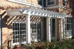 Cardiff - traditional - outdoor products - chicago - by Cardiff Industries Inc...Love this pergola
