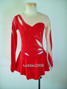 Gorgeous Figure Skating Dress Ice Skating Dress #6796 #icefairy