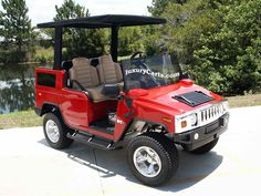 The Hummer Golf Car also utilises the highest quality components available for the electric golf vehicle industry.