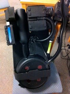 Ghostbusters - a Quick and Easy Proton Pack : 7 Steps (with Pictures) - Instructables Ghostbusters Costume, Proton Pack, Last Halloween, Ghost Busters, Book Cover Art, Cool Gadgets, Consumer Electronics, Packing, Easy