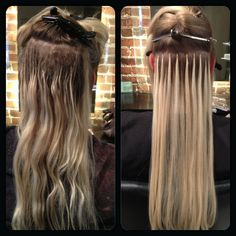 Before and after babe hair extensions by maria orbinati mlo salon how to straighten your hair pmusecretfo Gallery