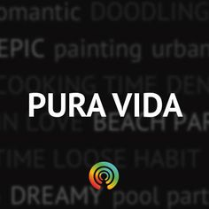 Check out this pura vida playlist, headphones preferred, the louder the better!                                  via Stereomood