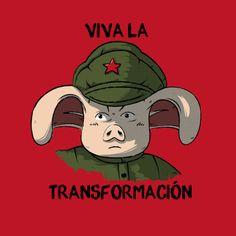 Dragon Ball: #Oolong / #Che Guevara mashup t-shirt.