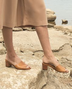 The most sophisticated slip-on you've ever known...meet Elizabeth. Handmade and lined with soft leather and a cushioned insole, these sandals are the chicest (and most comfortable) way to step into summer.