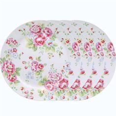 Cath Kidston Plates  sc 1 st  Pinterest & Spray Flowers dinner plates | Retro-CathKidston-Greengate-Whelan ...