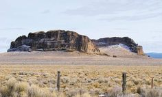 Eastern Oregon's Fort Rock