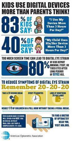 to Protect Your Child's Eye Health Tips to Protect Your Child's Eye Health - Facts About Digital Eye Strain - Saving Said SimplyTips to Protect Your Child's Eye Health - Facts About Digital Eye Strain - Saving Said Simply Health Facts, Health Tips, Health And Wellness, Healthy Eyes, Healthy Aging, Eye Care Center, Eye Facts, Coaching, Stress