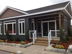 Beautiful James Hardie Siding makes this Manitoulin Model have a maintenance free exterior. For further information visit us online www.canadabuilds.ca