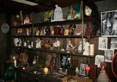 Warren's Occult Museum in Connecticut.  By appt. only and I think this would be fun to visit. She (and her late husband) are paranormal investigators for such famous events as The Amityville Horror and the Haunting In Connecticut.