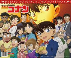 CDJapan : Case Closed (Detective Conan) [Calendar 2017 (Try-X Ltd.)] Animation Collectible