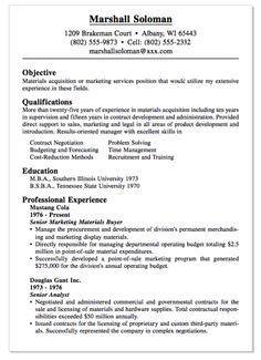 example of materials buyer resume httpexampleresumecvorgexample - International Broadcast Engineer Sample Resume