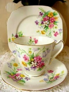 Image result for cup, saucer and plate display stand