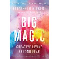 10 Good Books to Read to Feel Happy | Does your life feel a little stifling? It might be time to feed your creativity. As small as the act may seem, making something from the heart—whether that's cooking, painting, or crafting—takes some serious bravery. Gilbert goes deep with the spiritual side of creativity. #realsimple #bookrecomendations #thingstodo #bookstoread Elizabeth Gilbert Books, Eat Pray Love, Dig Deep, Free Reading, Writing A Book, Reading Online, Live Life, Audio Books, Books To Read