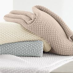 Donna Karan throw blanket
