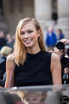 #New on #STYLEDUMONDE http://www.styledumonde.com with #KarlieKloss at #paris #fashionweek #pfw #dior #outfit #ootd #streetstyle #streetfashion #streetchic #streetsnaps #fashion #mode #style