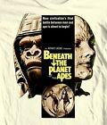 Beneath Planet Apes T-shirt Free Shipping retro 1970's sci-fi movie cotton tee
