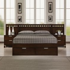 Warm Cherry Bedroom Set