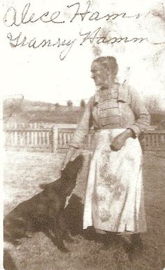 Granny Ham – Alice Ednora Ham 1862-1935 - my great-great-grandmother