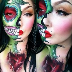 Her artistic training includes working as a portrait painter, which allows her to master her fundamental skills.  More: http://blog.furlesscosmetics.com/jordan-hanz/